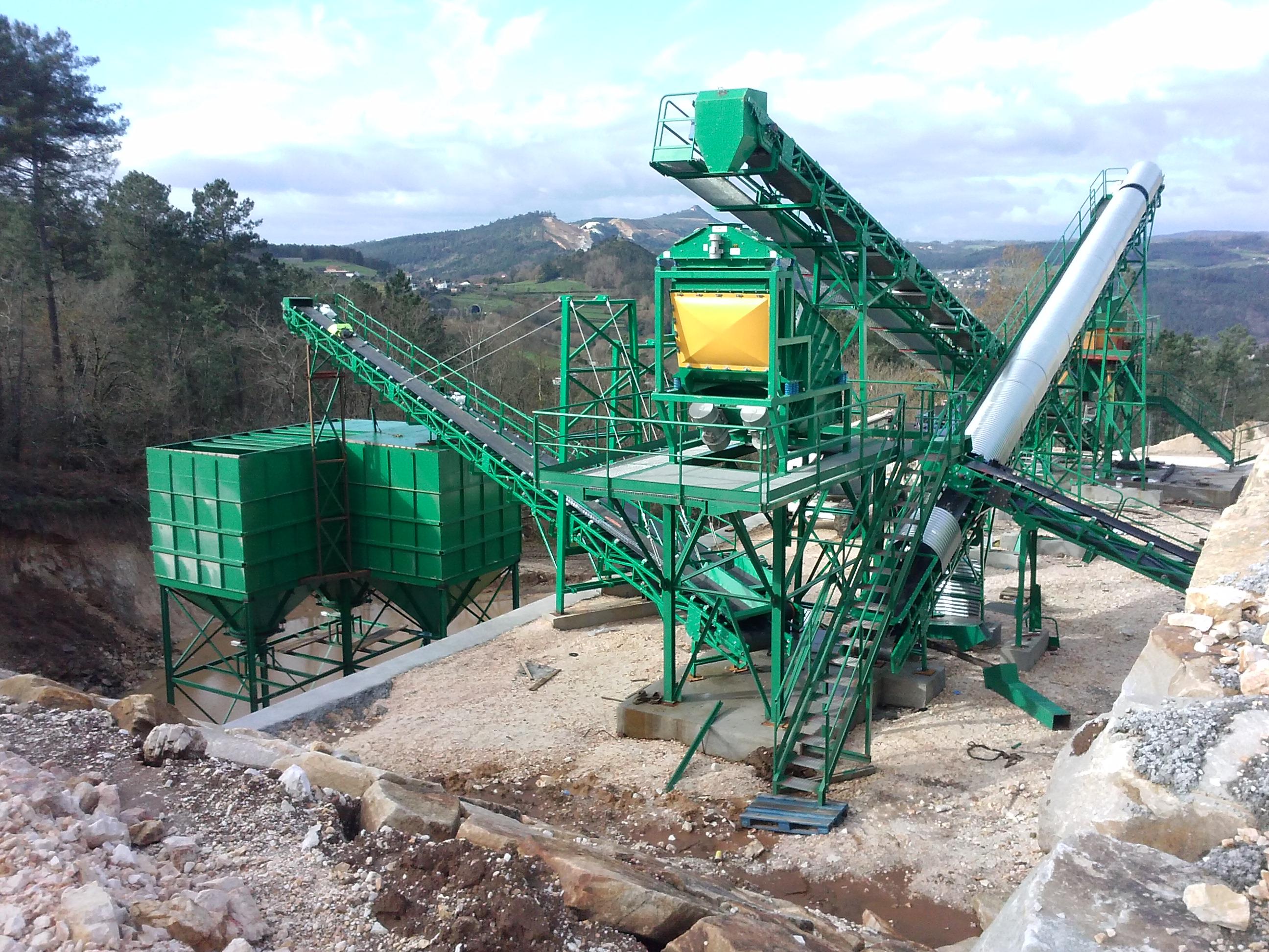 Transportadores de banda planta de cemento
