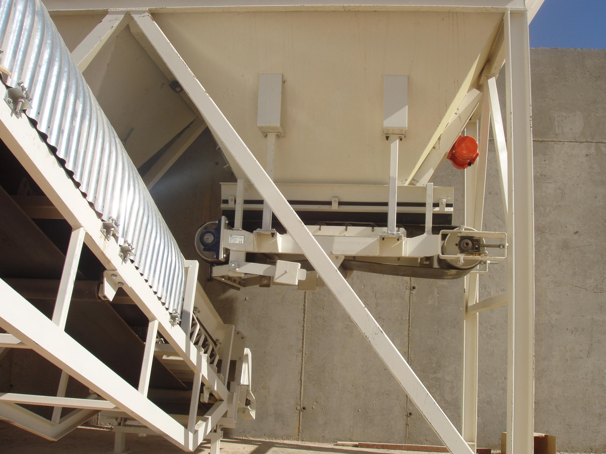 Banda transportadora industrial