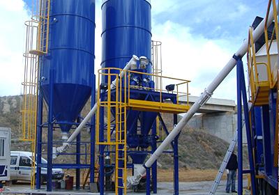 Planta de fabricación de grava cemento pego