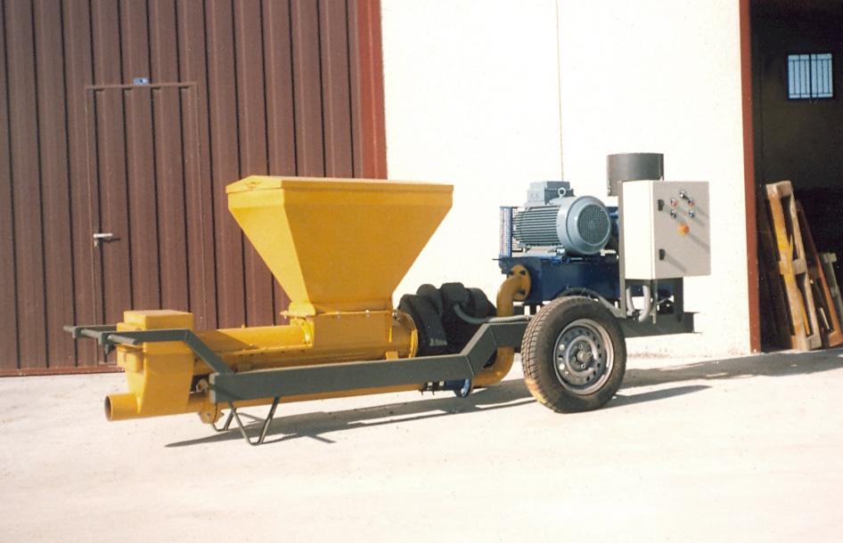 Transporte neumático de graneles