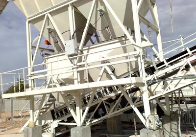 Planta de fabricación de hormigón - concreto
