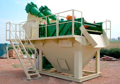 Procsamiento de minerales: Lavado de arenas especiales