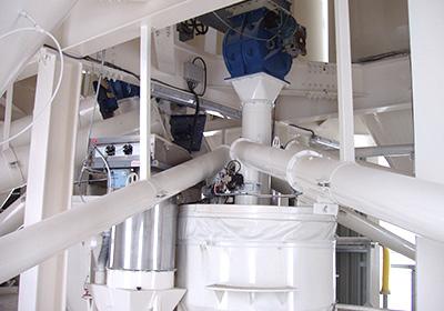 Planta de fabricación de mortero seco