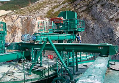 Transportadores de tornillo sin fin para la manipulación de sólidos