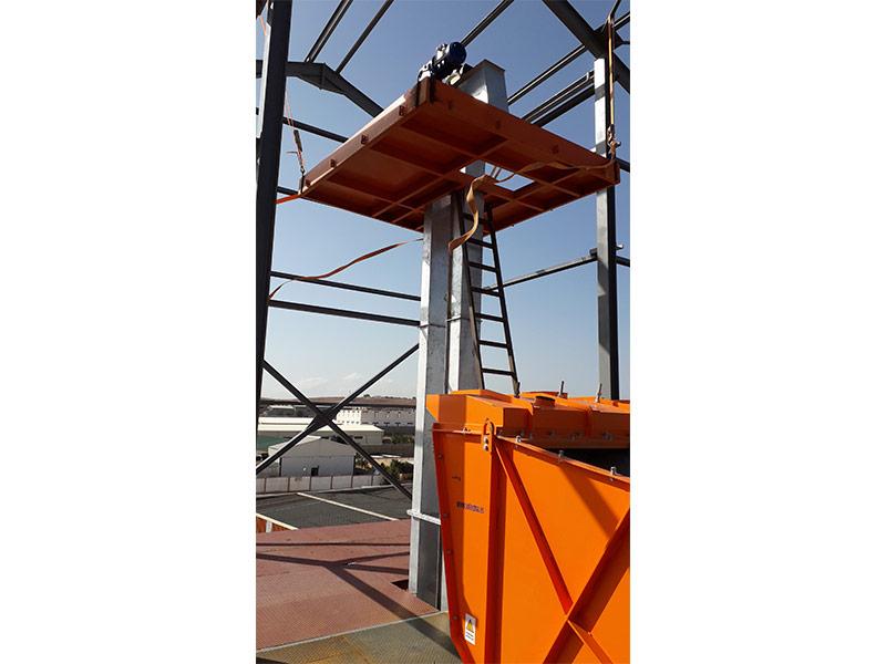 Elevadores cangilones verticales Sotecma