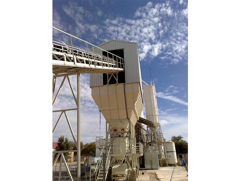 Fabricación de plantas de concreto