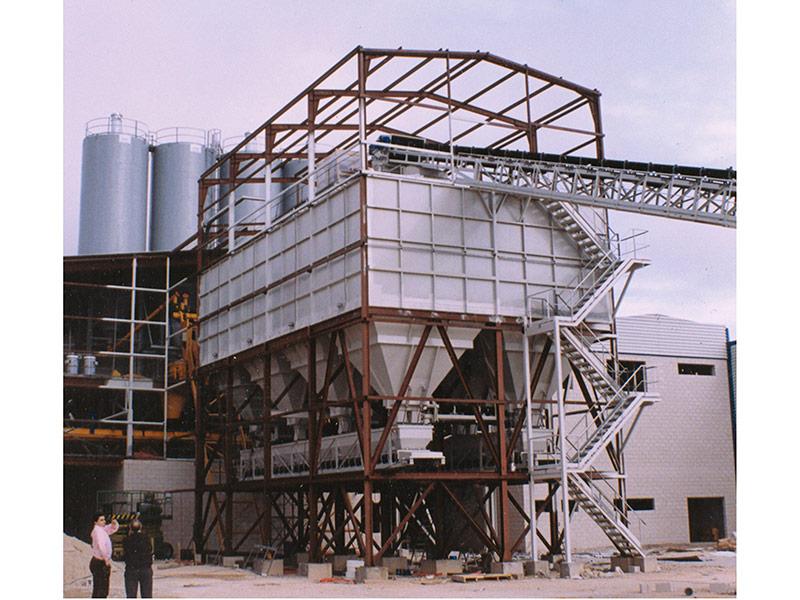 Planta de concreto hormigón