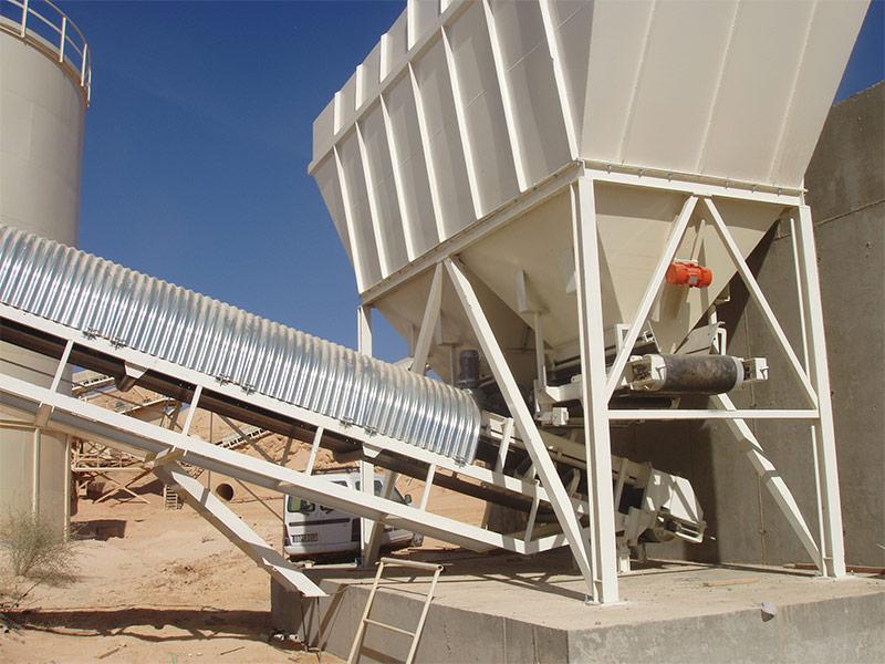 producción y lavado de arenas especiales