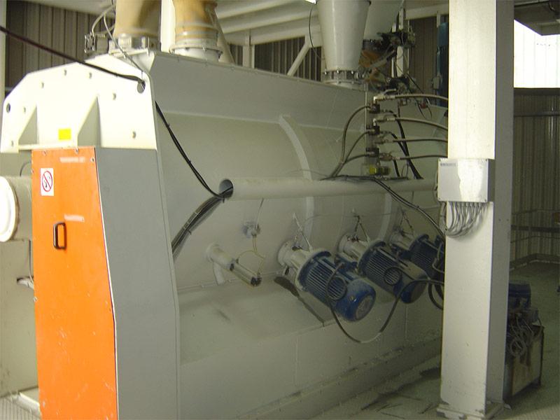 Mezcladora planta fabricación mortero