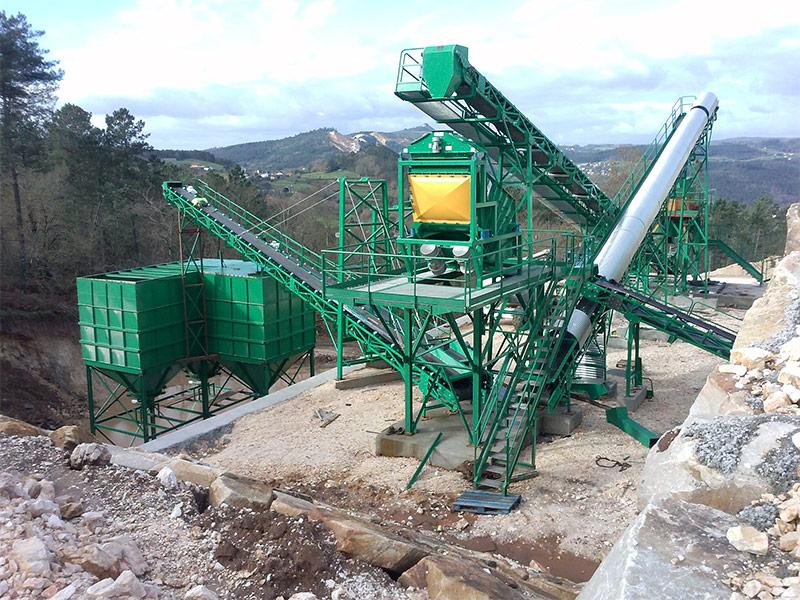 Procesado de minerales de uso industrial